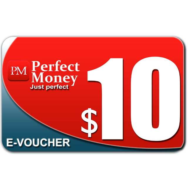 $10.00 e-voucher PERFECT MONEY Instant Delivery - Other Gift Cards - Gameflip