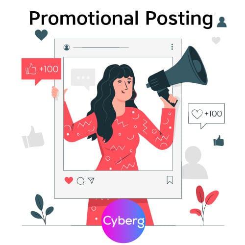 Promotional Posting