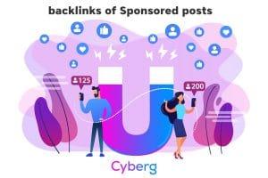 Backlinks of Sponsored posts