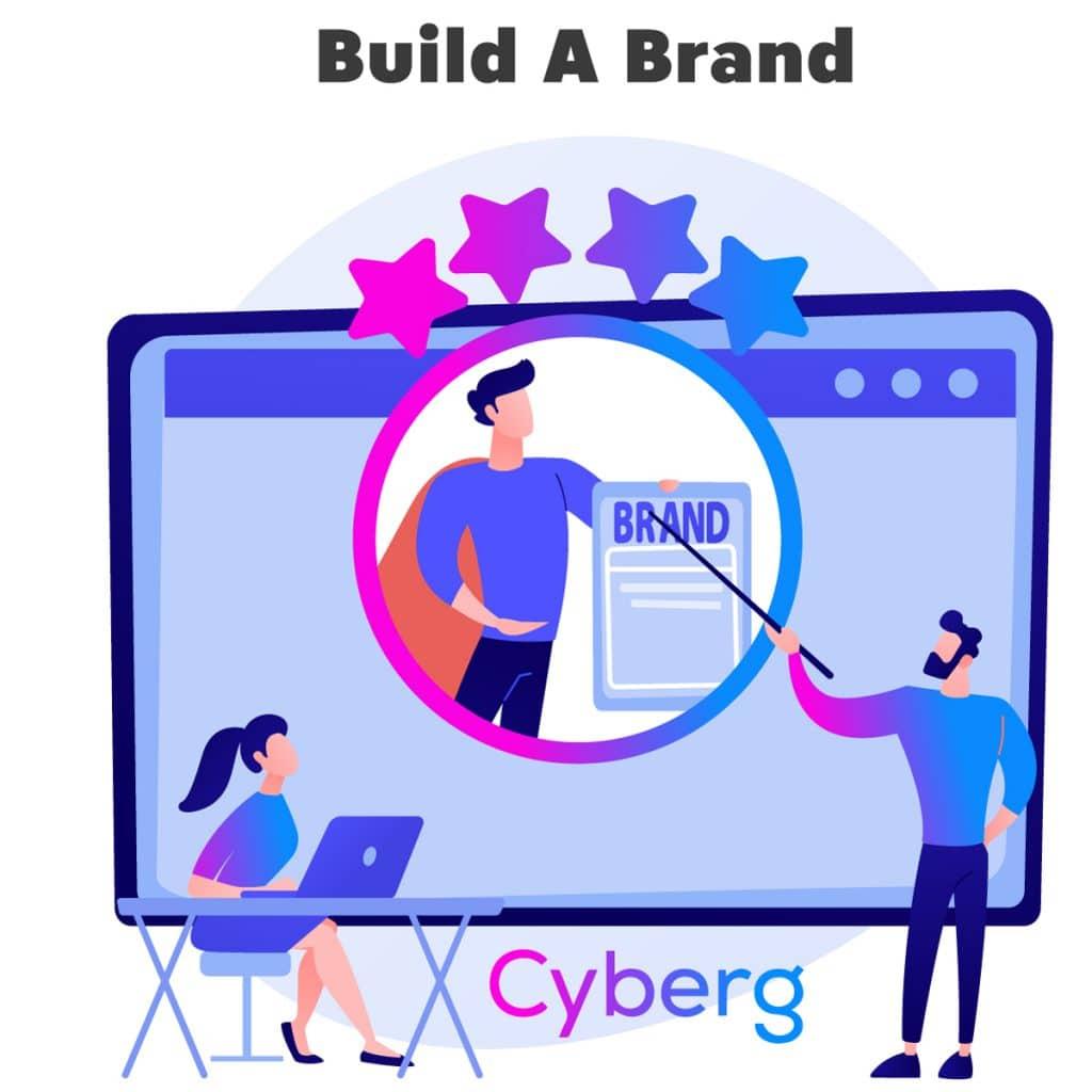 Sponsored-promotional post brand building